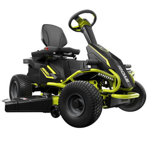 The Ryobi Electric Riding Lawnmower