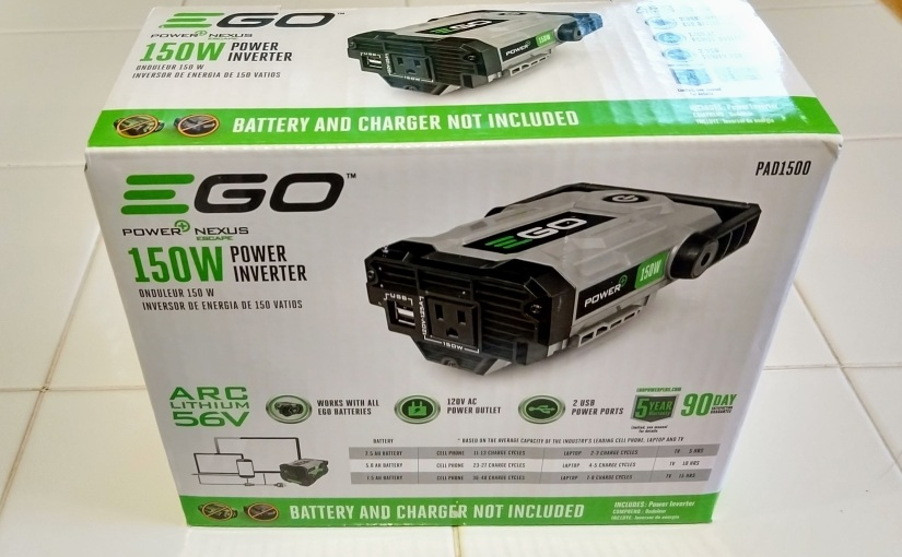 The EGO Power+ Nexus Escape Power Inverter