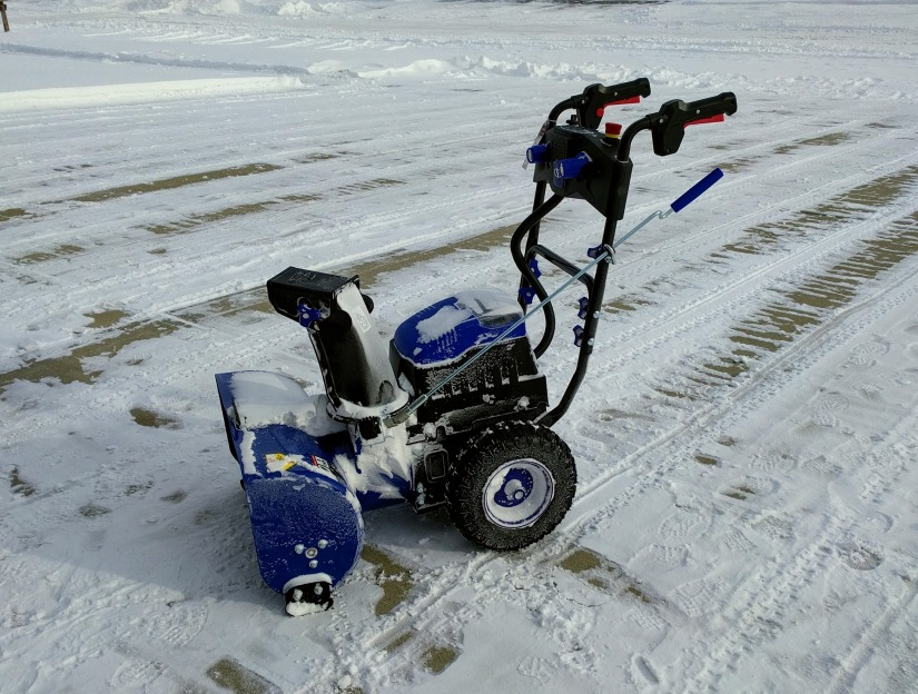 My first battery-powered snow blower was a Snow Joe Two-Stage